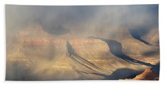 Storm Over The Grand Canyon Beach Towel
