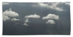 Storm Is Coming  Beach Towel