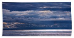 Beach Towel featuring the photograph Storm Supremacy by Jordan Blackstone