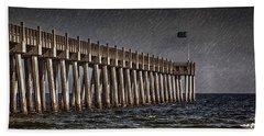 Stormscape Beach Towel by Sennie Pierson