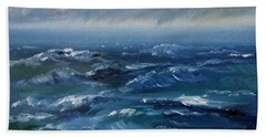 Stormy Monday Beach Towel