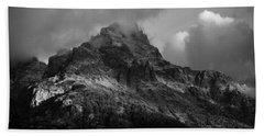 Stormy Peaks Beach Towel
