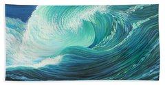 Stormy Wave Beach Sheet