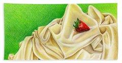 Strawberry Passion Beach Towel