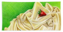 Strawberry Passion Beach Towel