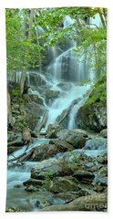 Streams Through The Trees Beach Towel