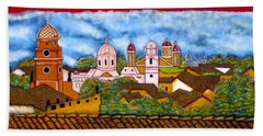 Street Art Granada Nicaragua 3 Beach Towel