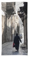 Street In Aleppo Syria Beach Towel