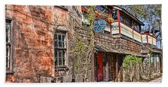 Beach Sheet featuring the photograph Streets Of St Augustine Florida by Olga Hamilton