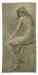 Study For Lilith Beach Towel