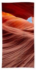 Subterranean Waves Beach Towel