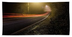 Suburbian Night Beach Towel