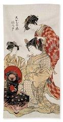Suminoto Of Okanaya, From The Series Beach Towel