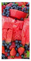 Beach Towel featuring the photograph Summer Fruit by Sami Martin