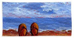 Beach Sheet featuring the painting Summer Fun by Darice Machel McGuire