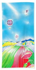Summer Lights Beach Towel