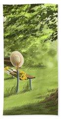 Summer Paradise Beach Sheet