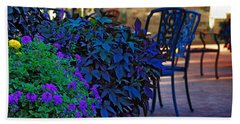 Summer Patio Beach Towel