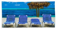 Beach Towel featuring the photograph Summer by Paul Wear