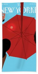Summer Sky Beach Towel