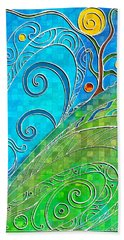 Summer Solstice Beach Towel