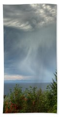 Summer Squall Beach Towel