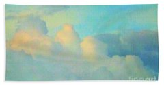 Summer Sunset Beach Towel by Robyn King