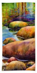 Summer Tranquility Beach Towel