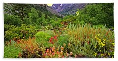 Summer Wildflowers In Lundy Canyon Beach Sheet