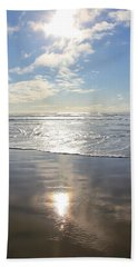 Sun And Sand Beach Sheet by Athena Mckinzie