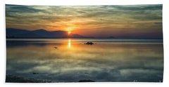 Sun Reflection Beach Sheet