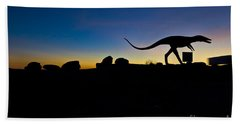 Sun Set Dinosaurs Beach Towel