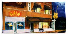 Sun Studio - Night Beach Towel