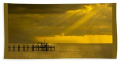 Sunbeams Of Hope Beach Towel by Marvin Spates