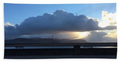 Sunbeams Over Conwy Beach Sheet