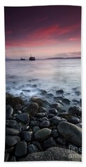 Sundown Over Elgol  Beach Towel