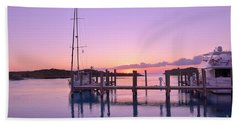 Sundown Serenity Beach Towel