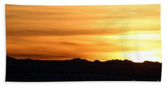 Sundre Sunset Beach Towel