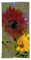 Sunflower 33 Beach Towel