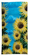 Sunflower Fun Beach Towel