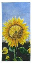 Sunflower Series One Beach Sheet