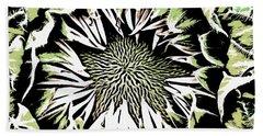 Beach Towel featuring the digital art Sunflower1 by Dragica  Micki Fortuna