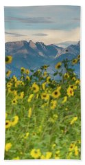 Sunflowers In The San Luis Valley Beach Towel