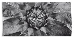 Sunflower's Shades Of Grey Beach Towel