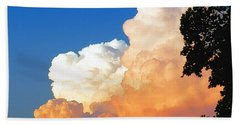 Sunkissed Storm Cloud Beach Towel