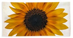 Sunny Disposition Beach Towel by Tammy Espino