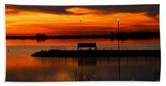 Sunrise At Jackson Beach Towel