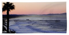 Sunrise At Pismo Beach Beach Towel by Kathy Churchman