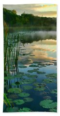 Sunrise At Pokagon State Park  Beach Towel