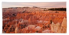 Sunrise At Sunset Point Bryce Canyon National Park Beach Sheet
